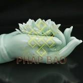 ĐỐT TRẦM bàn tay Phật 10CM-4logo2