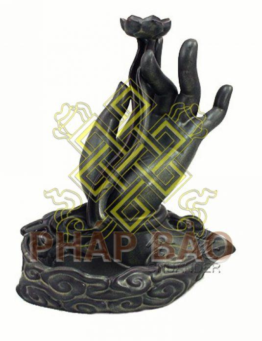 ĐỐT TRẦM bàn tay Phật 14CM-1logo2