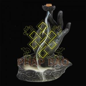 ĐỐT TRẦM bàn tay Phật 14CM-2logo2